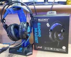 Headset Gaming Sades Locust SA904