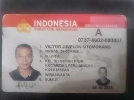 Lowongan Supir SIM A