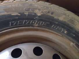 4 tyre and stepney for sale