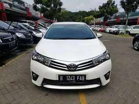 Total DP 10jutaan, New Altis 1.8 G manual 2015