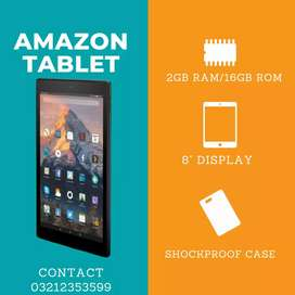 Amazon Tablet 8inch Display (2/16GB) Available At: Rayyan Cell Point