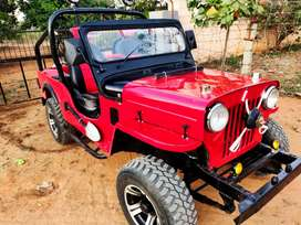 Gud condition...  Newly customized... Look like new jeep