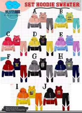 3 in1 Hoodie Sweater Cloudbee - Baru