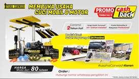 PROMO  Paket Usaha Hidrolik Cuci Mobil doorsmeer Lengkao siap pakai