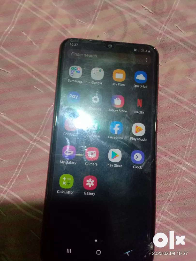 Sm A20 very good condition sell quickly lena hai to msg karo 0