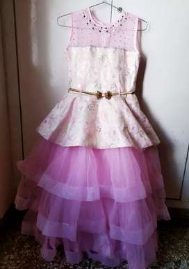 Pink gown princess