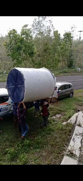 Gudang tandon air 5000 liter temanggung