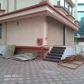Shop for rent in Sector 19 vashi