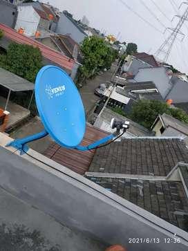 Paket Antena Parabola mini Kvision,Nex parabola,Nusantara Transvision