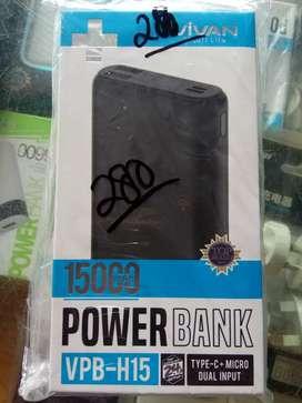 powerbank vivan H15