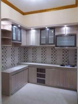 Kitchen Set Aluminium Custome Murah dan Bagus Anti Rayap