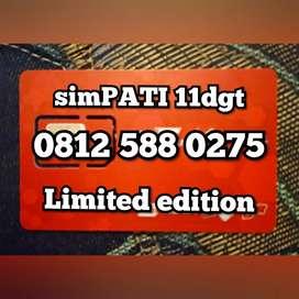 Telkomsel simPATI 11dgt limited edition 0275