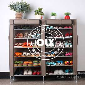 Double Shoe Rack 12 layers, Your shoes depict your personality so keep