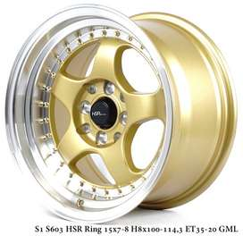 BRISKET S1 S603 HSR R15X78 H8X100-114,3 ET3520 GOLDML