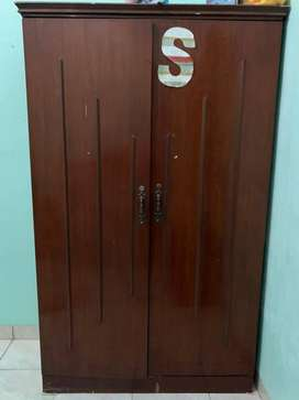 lemari kayu 2pintu