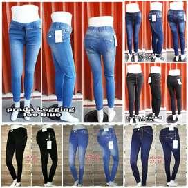 Celana Jeans Big size wanita