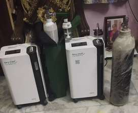 Oxymed electronic oxygen machine and oxygen cylinder