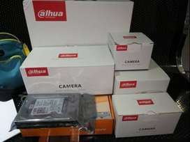 4-CCTV Camera With Complete Installation (Fresh Stock)