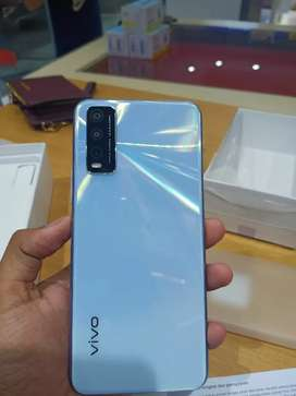 Vivo Y20 Baterai 5000 Side Fingerprint