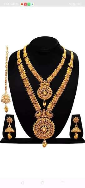 Brass jewel set(gold)