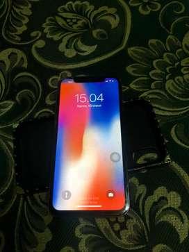 Iphone X 64GB Lengkap No Minus