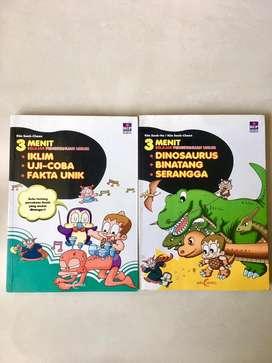 Paket Buku Komik  Why Pengetahuan Umum Bahasa Indonesia Kartun Animasi