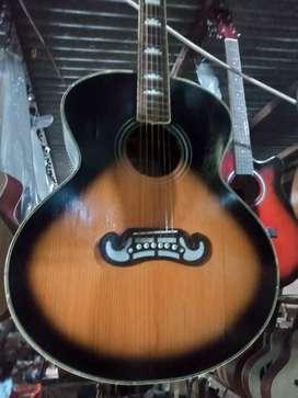 Gitar akustik gibson dabel ran baru
