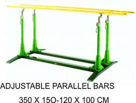 Adjustable Pararel Bars Outdoor Fitness Murah Garansi 1 Tahun