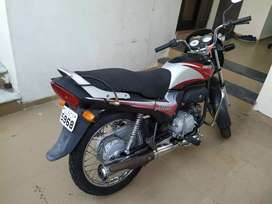 Passion plus with new rear tyre