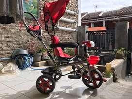 Sepeda Anak roda tiga exotic