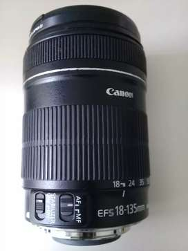 Bs Nego Lens EF-S 18 - 135 mm 1:3.5-5.6 IS Kit u/ Canon EOS 7 D & 60 D