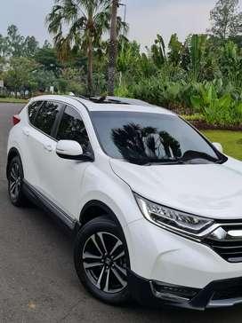 Honda CRV Turbo 1.5 Prestige 2019 putih, istimewa