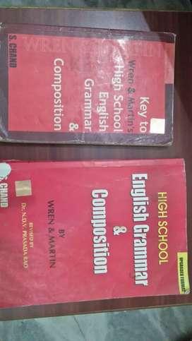 Wren and martin English language book