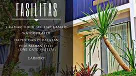 Sewa rumah villa mewah guest house 3kmr di riverside malang