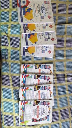 Class 10 Oswaal Books and Sample paper book for all subjects.