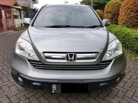 Honda New CR-V (CRV) 2.4 i-VTEC (Tertinggi) Matic TH 2008 W. Grey