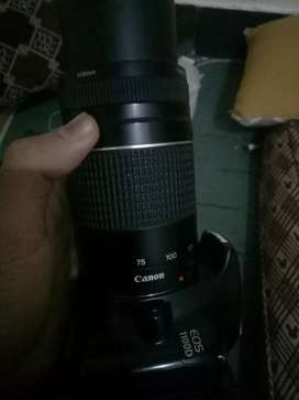 Camera for sale 75 300lanz