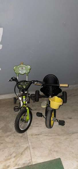 Cycle stroller chikoo brand