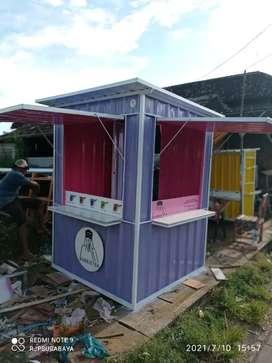 Kontainer,container,gerobak,booth,rombong,semi replika kontainer murah
