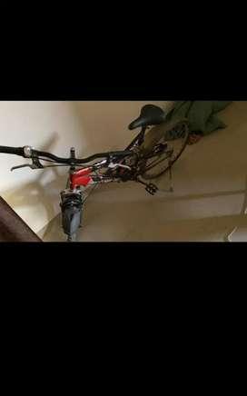 New Hero  gear bicycle