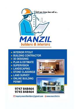 We are manzil builders & interiors at palakad (d)