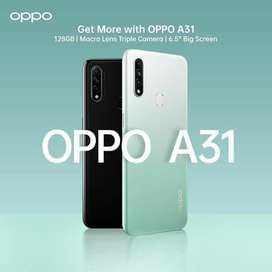 Oppo A31 4 GB Ram - 128 GB ROM PTA Approved - 1 year official Warranty