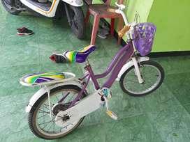 Sepeda Anak Perempuan Cewek Bekas