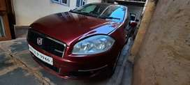 Well maintained Fiat Linea of 2011 Diesel selling due to parking prblm