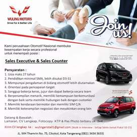 Sales Executive dan Sales Counter