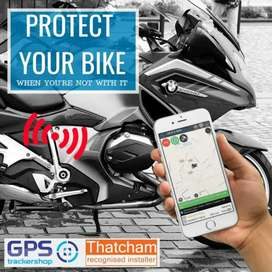 Bike GPS TRACKER Engine lock from mobile ZERO MONTHLY FEE pta approved
