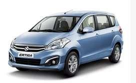 Ertiga car for rental service