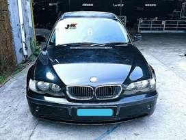 Dikampak! BMW E46 N42 Black on Black