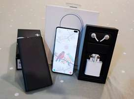 Diwali offer selling samsung s10 plus excellent condition white Color