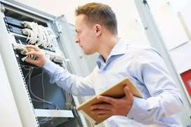 I need  job of network engineer